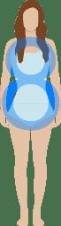 morphologie femme en 8 - quel maillot de bain selon ma morphologie