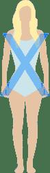 morphologie femme en X ou sablier - quel maillot de bain selon ma morphologie